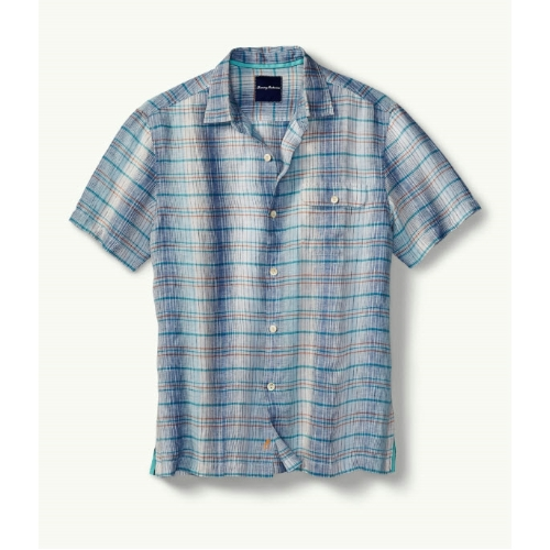 Tommy Bahama Paradigm Plaid Camp Shirt Thumbnail
