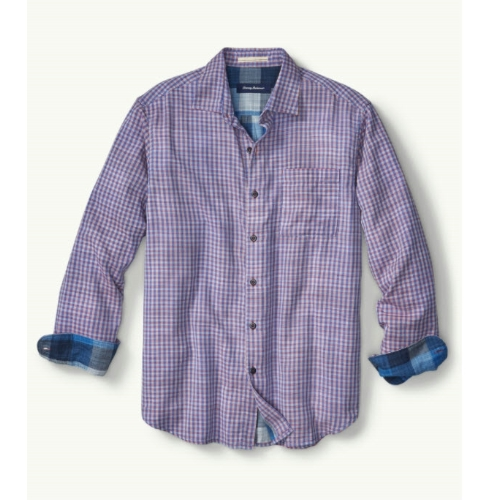 Tommy Bahama Dual Lux Gingham Shirt Thumbnail