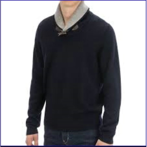 Toscano Shawl Collar Toggle Sweater Thumbnail