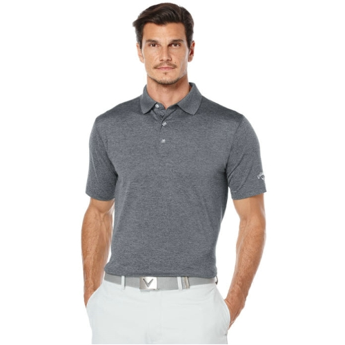 Callaway Opti-Stretch Heathered Polo Shirt Thumbnail