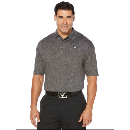 Callaway Opti-Stretch Heathered Polo Thumbnail