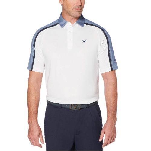 Callaway Opti-Dry Shoulder Blocked Polo Thumbnail