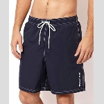 Nautica Solid Swim Trunk Thumbnail