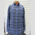 Mine Denim Plaid Sportshirt Thumbnail