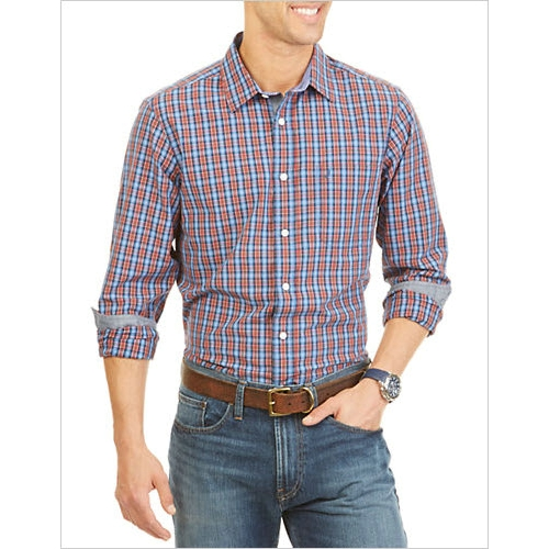 Nautica Cotton Plaid Sportshirt Thumbnail