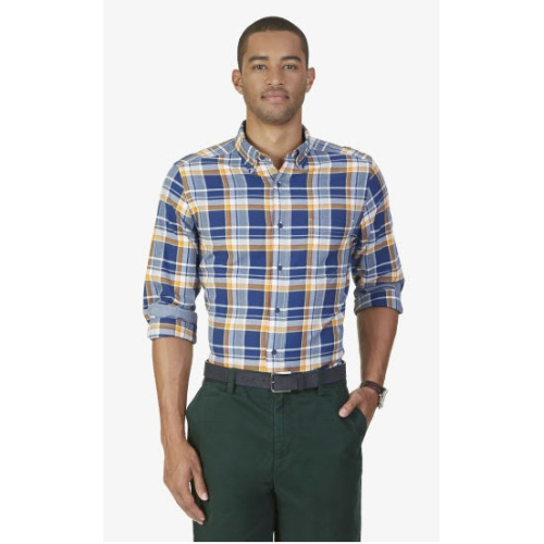 Nautica Long Sleeve Plaid Sportshirt Thumbnail