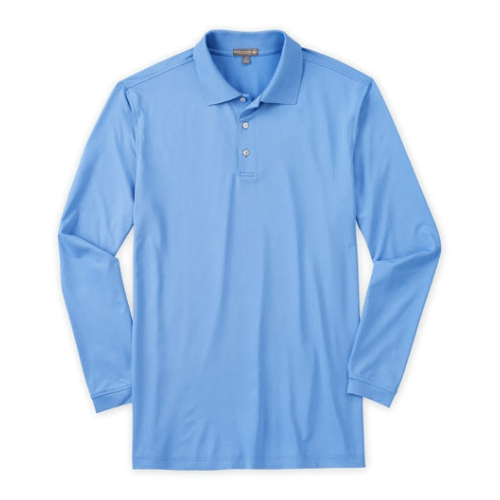 Peter Millar Stretch Long Sleeve Jersey Knit Thumbnail