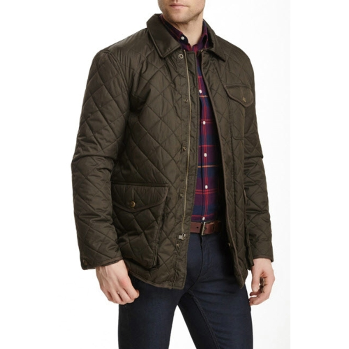 Hart Schaffner Marx Quilted Barn Coat Thumbnail