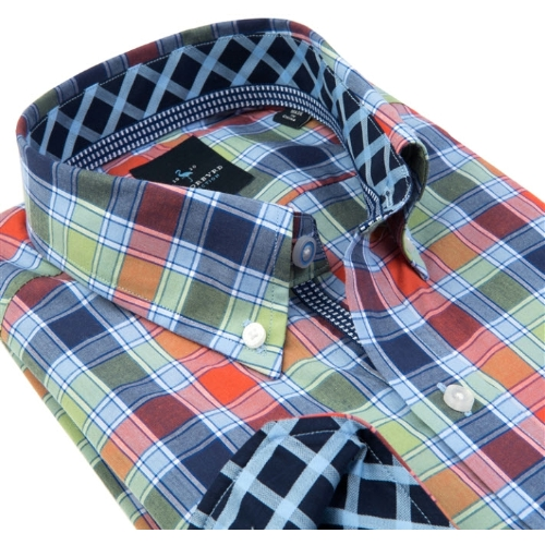 Tailorbyrd Argentina Plaid Sportshirt Thumbnail