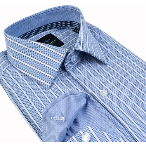 Tailorbyrd Steenbras Striped Sportshirt Thumbnail
