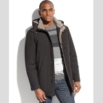 Perry Ellis Hooded Microfiber Jacket Thumbnail