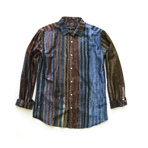 Pete Huntington Stripe Sportshirt Thumbnail