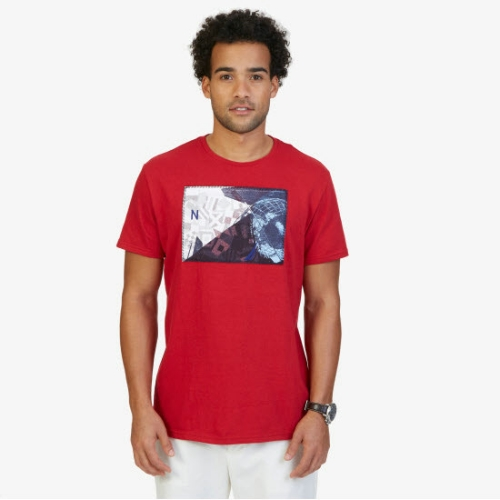 Nautica Collage Graphic T-Shirt Thumbnail