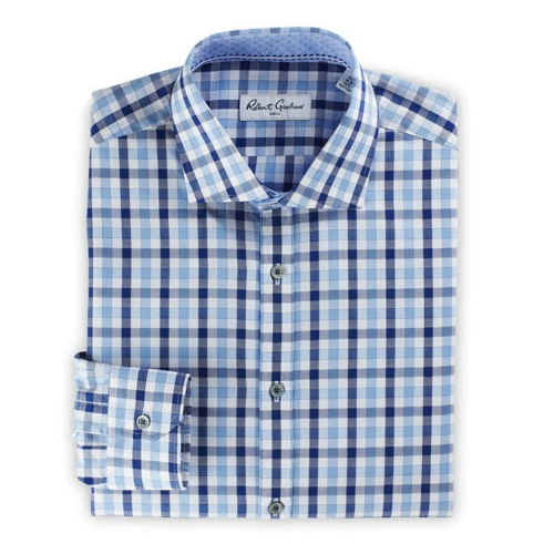 Robert Graham Kerrie Bold Check Dress Shirt Thumbnail
