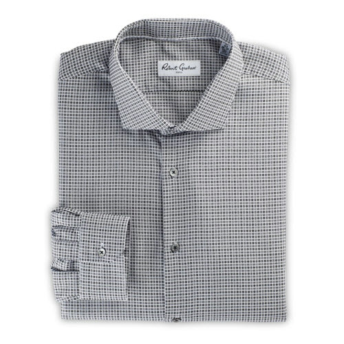 Robert Graham Tylden Micro Geo Dress Shirt Thumbnail