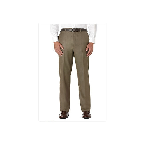 Savane Sharkskin Flat Front Dress Pants Thumbnail
