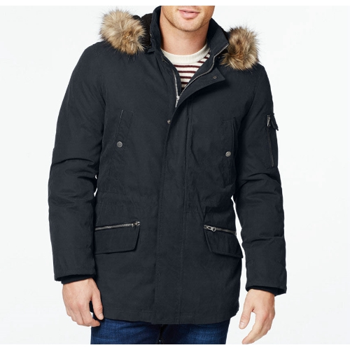 Nautica Parka w/ Removable Faux Fur Hood Thumbnail