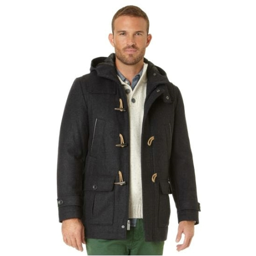 Nautica Wool Toggle Coat Thumbnail