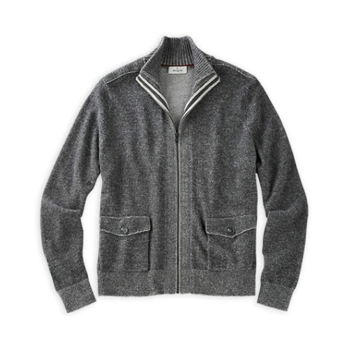 Toscano Full Zip Cardigan Sweater Thumbnail