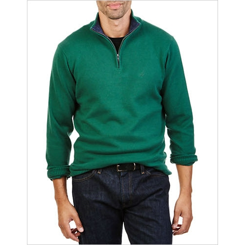 Nautica Quarter-Zip Cotton Pullover  Thumbnail