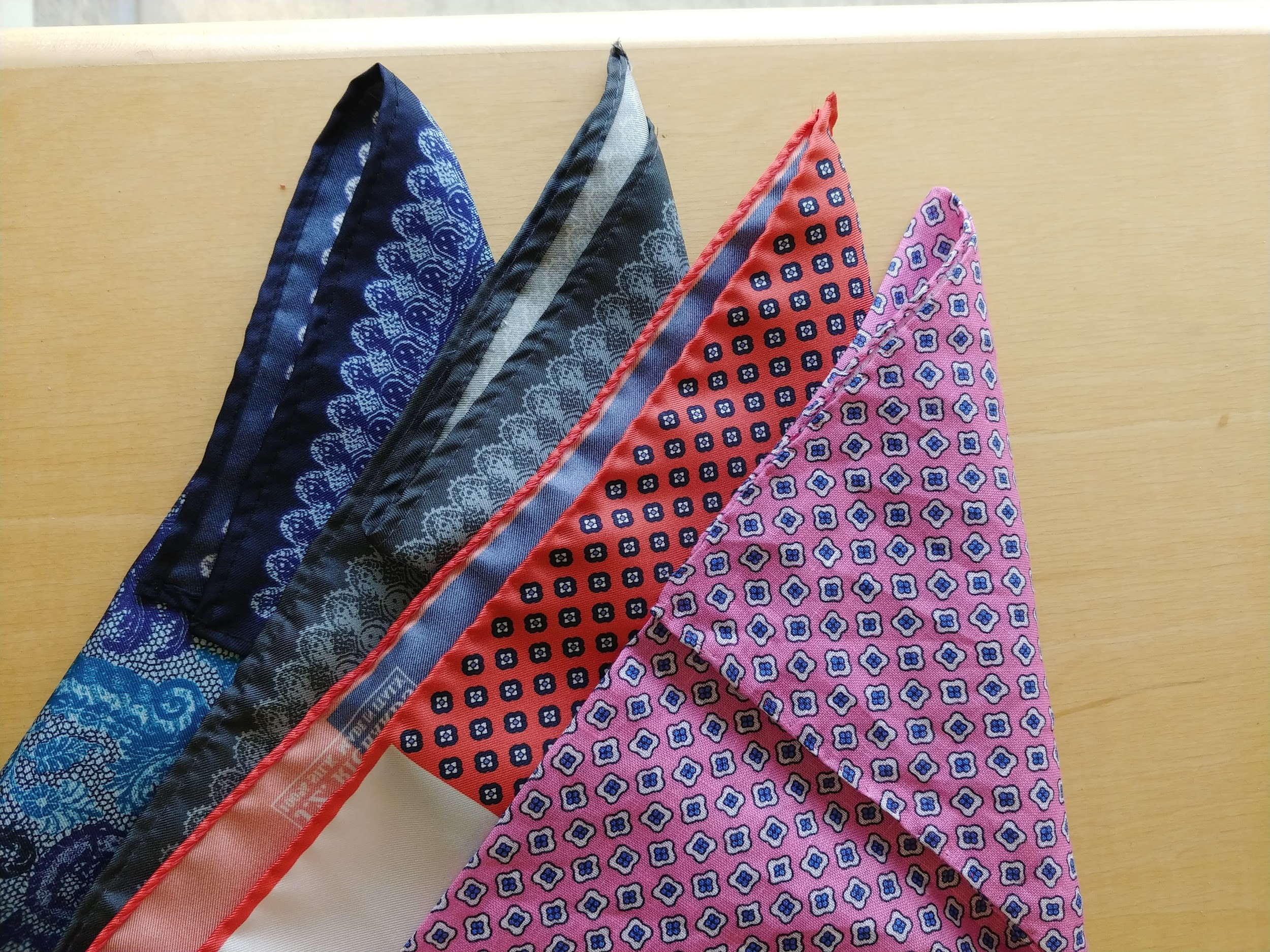 8d3de84c99ae3 Pocket squares can be a fun tool to use when wearing your favorite worn in  suit. Also, you are able to style them in different ways with fun folds to  try ...