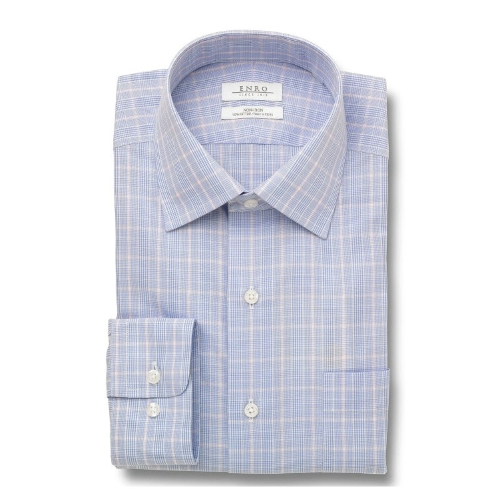 Enro Non-Iron Gaston Check Dress Shirt Thumbnail