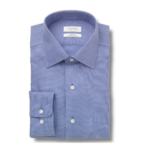 Enro Non-Iron Edgemont Check Dress Shirt Thumbnail