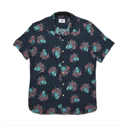 Surfside Supply Octopus Print Shirt Thumbnail
