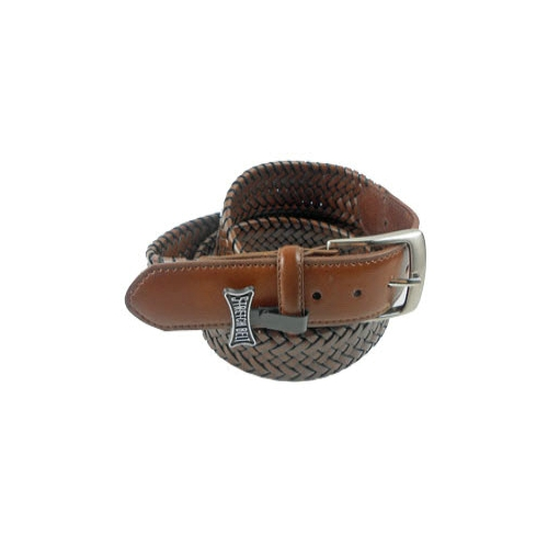 Gem-Dandy Leather Braided Stretch Belt Thumbnail