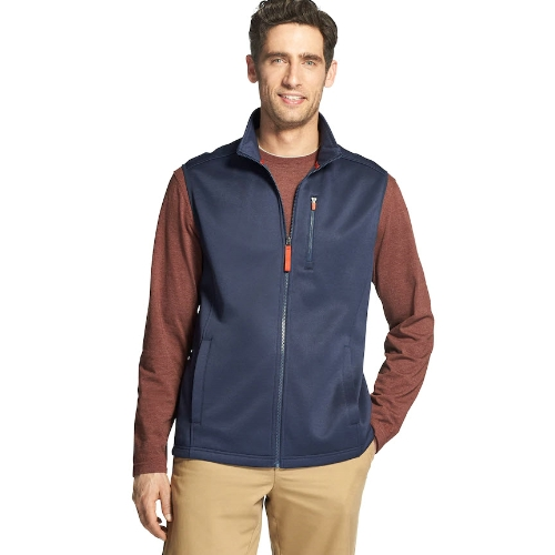 Izod Spectator Stretch Fleece Vest Thumbnail