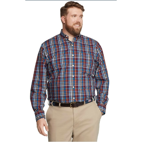 Izod Performance Plaid Shirt Thumbnail