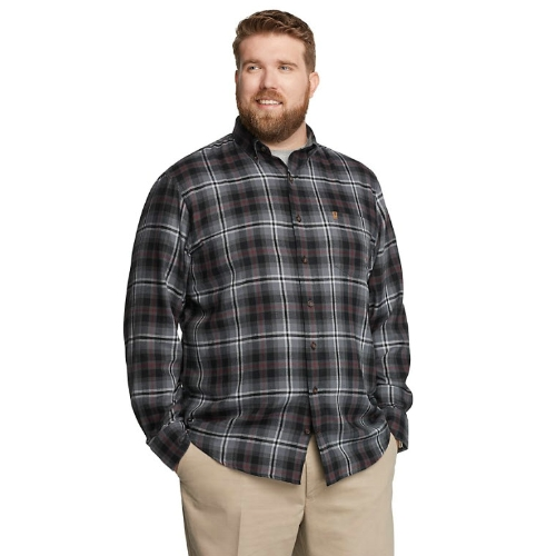 Izod Performance Flannel Plaid Shirt Thumbnail