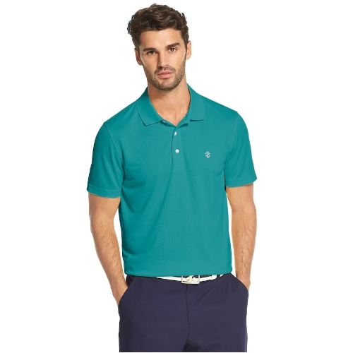 Izod Swingflex Grid Performance Golf Polo Thumbnail