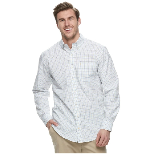 Izod Premium Essentials Tattersall Shirt Thumbnail