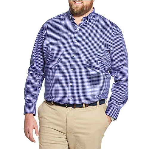 Izod Gingham Stretch Shirt Thumbnail
