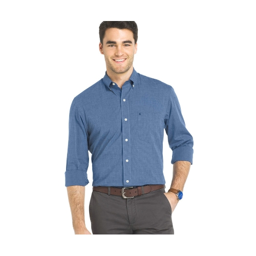 Izod Solid Button-Down Sportshirt Thumbnail