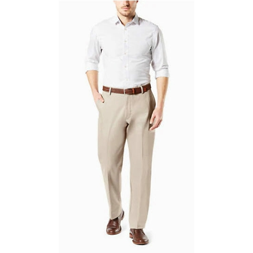 Levi B&T Stretch Flat Front Dockers - Cloud Thumbnail