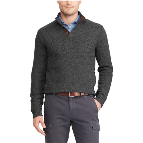 Chaps Mockneck Pullover Sweater Thumbnail