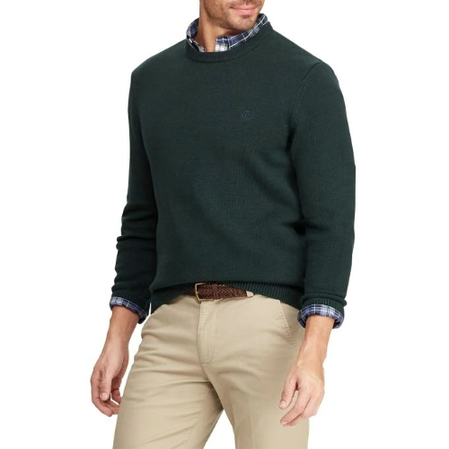 Chaps Jersey Crew Sweater Thumbnail