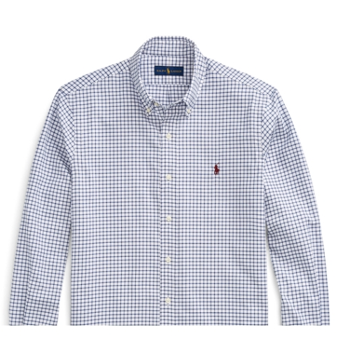 Polo Classic Fit Plaid Twill Shirt Thumbnail