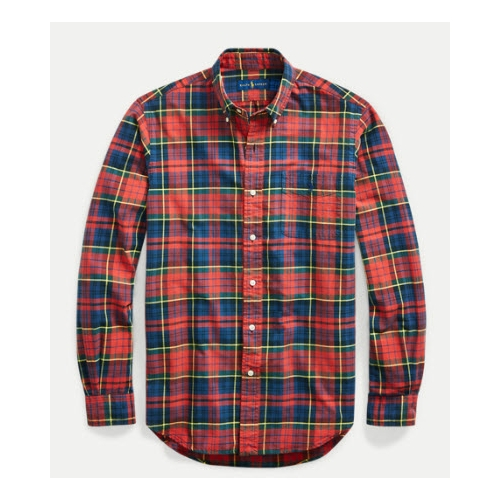 Polo Tartan Oxford Shirt Thumbnail