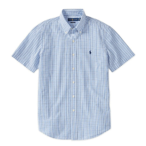 Polo Check Seersucker Shirt Thumbnail