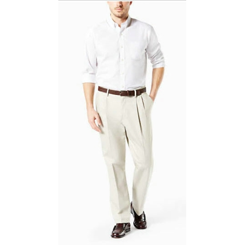 Levi B&T Stretch Pleated Dockers - Cloud Thumbnail