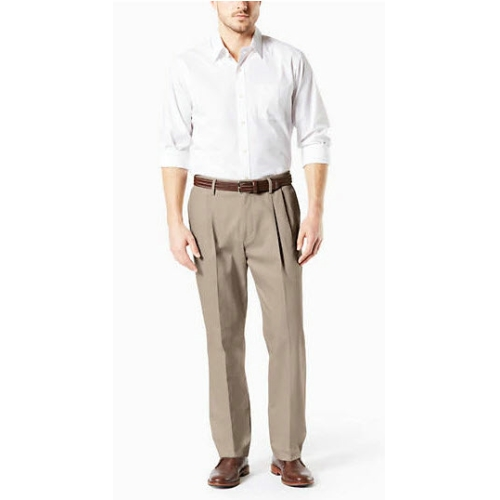 Levi B&T Stretch Pleated Dockers - Khaki Thumbnail