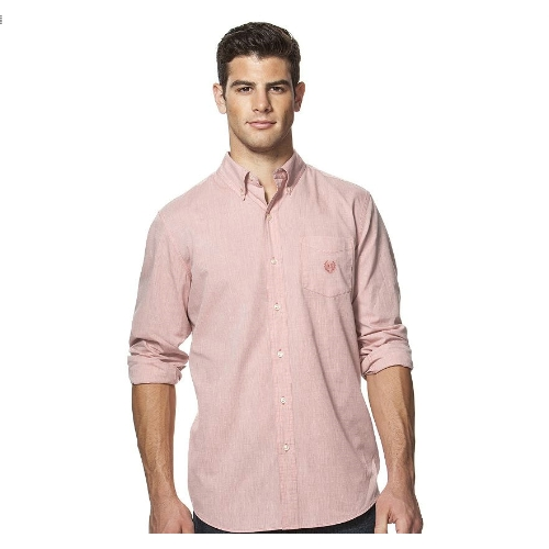 Chaps Solid Poplin Easy Care Sportshirt Thumbnail