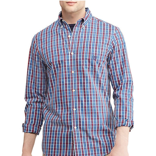Chaps Easy Care Gingham Shirt Thumbnail