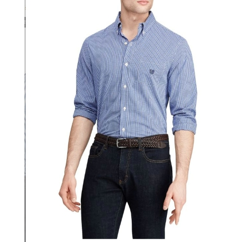 Chaps Easy Care Checked Shirt Thumbnail