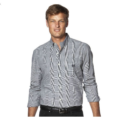 Chaps Glen Plaid Easy Care Sportshirt Thumbnail