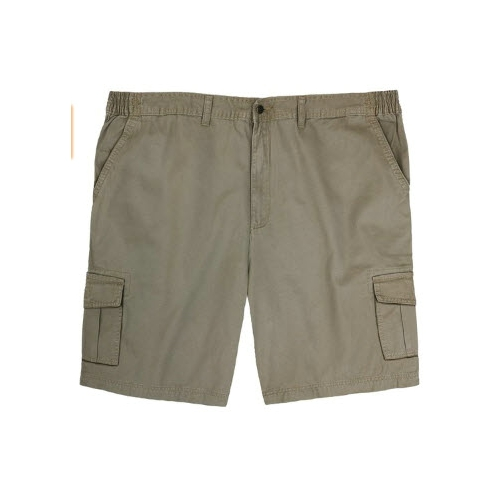 Full Blue Twill Cargo Short Thumbnail