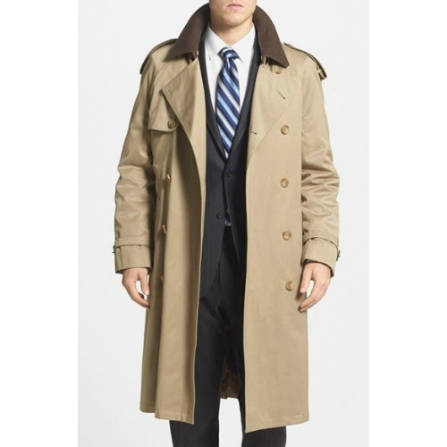 Hart Schaffner Marx Barrington Trench Coat Thumbnail